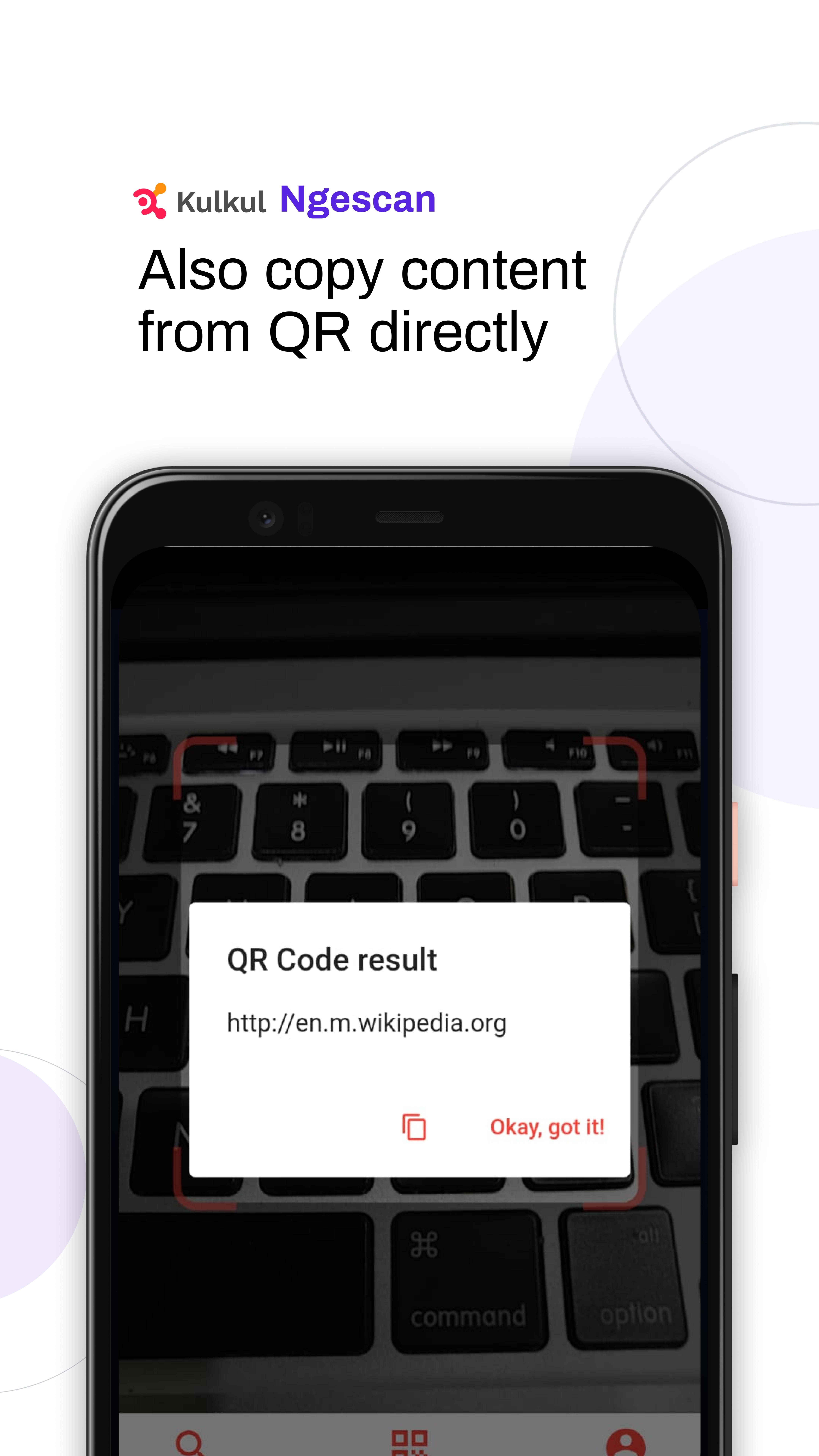 Download gratis app pemindai barcode
