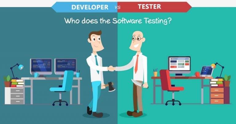 Developer vs. Tester cartoon